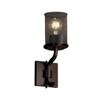 Justice Design Sonoma 1 Light Wall Sconce in Dark Bronze MSH-8781-10-DBRZ