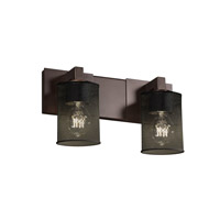 Justice Design Modular 2 Light Bath Light in Dark Bronze MSH-8922-10-DBRZ