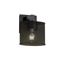 Justice Design Modular 1 Light Wall Sconce in Matte Black MSH-8931-30-MBLK