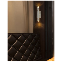 Justice Design NSH-8842-NCKL Kyber LED 5 inch Brushed Nickel Wall Sconce Wall Light