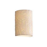 Porcelina 2 Light 6 inch Wall Sconce Wall Light in Bamboo
