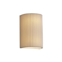 Porcelina 2 Light 6 inch Wall Sconce Wall Light in Pleats