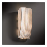 Justice Design PNA-5135-WFAL Signature 1 Light 6 inch ADA Wall Sconce Wall Light in Waterfall, Incandescent PNA-5135-WFAL_2.jpg thumb