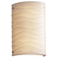 Justice Design PNA-5541-WAVE-NCKL Oliver 2 Light 8 inch Brushed Nickel ADA Wall Sconce Wall Light