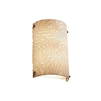 Signature 1 Light 8 inch Dark Bronze Wall Sconce Wall Light in Bamboo