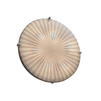 Justice Design PNA-5548-WFAL-NCKL Signature 6 Light Brushed Nickel Wall Sconce Wall Light in Waterfall thumb