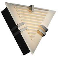 Justice Design Porcelina Clips Triangle Wall Sconce (Ada) in Polished Chrome PNA-5552-SLAT-CROM photo thumbnail