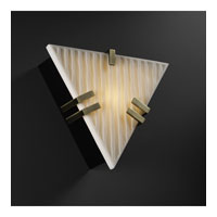 Justice Design Porcelina Clips Triangle Wall Sconce (Ada) in Antique Brass PNA-5552-WFAL-ABRS photo thumbnail