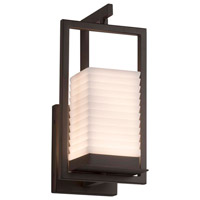 Justice Design PNA-7511W-WAVE-DBRZ Porcelina LED 6 inch Dark Bronze Wall Sconce Wall Light