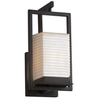 Justice Design PNA-7511W-SAWT-MBLK Porcelina LED 6 inch Matte Black Wall Sconce Wall Light