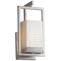 Justice Design PNA-7511W-SAWT-NCKL Porcelina LED 6 inch Brushed Nickel Wall Sconce Wall Light