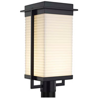 Porcelina Pacific LED 18 inch Matte Black Outdoor Post Light
