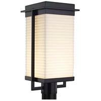 Justice Design PNA-7543W-SAWT-MBLK Porcelina Pacific LED 18 inch Matte Black Outdoor Post Light