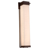 Justice Design PNA-7545W-WAVE-DBRZ Porcelina LED 6 inch Dark Bronze Wall Sconce Wall Light