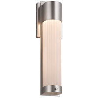 Justice Design PNA-7602W-SAWT-MBLK Porcelina LED 5 inch Matte Black ADA Wall Sconce Wall Light in Sawtooth