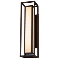 Dark Bronze Porcelina Outdoor Wall Lights