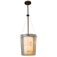 Porcelina LED 12 inch Dark Bronze Pendant Ceiling Light