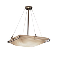 Justice Design Metropolis 6 Light Pendant in Polished Chrome PNA-8142-25-SAWT-CROM