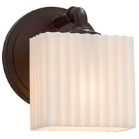 Porcelina LED 6 inch Dark Bronze ADA Wall Sconce Wall Light