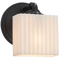 Porcelina LED 6 inch Matte Black ADA Wall Sconce Wall Light