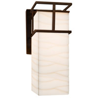 Porcelina LED 5 inch Dark Bronze Wall Sconce Wall Light in Waves