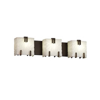 Justice Design Porcelina 3 Light Bath Light in Dark Bronze PNA-8883-BMBO-DBRZ