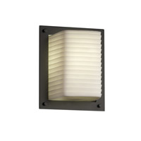 Porcelina 1 Light 7 inch Matte Black ADA Wall Sconce Wall Light in Sawtooth
