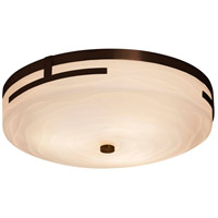 Justice Design PNA-8998-SAWT-CROM Porcelina LED 19 inch Polished Chrome Flush Mount Ceiling Light