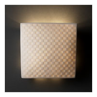 Justice Design Limoges Ada Square Wall Sconce POR-5120-CHKR