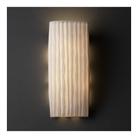 Justice Design Limoges Ada Rectangle Wall Sconce POR-5135-WFAL