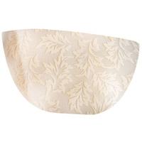 Justice Design POR-5725-LEAF Limoges 2 Light 15 inch ADA Wall Sconce Wall Light in Leaf Leaves Impression
