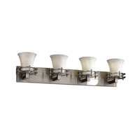 Justice Design Limoges 4 Light Bath Light in Brushed Nickel POR-8274-20-BANL-NCKL