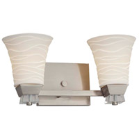 Brushed Nickel Limoges Bathroom Vanity Lights