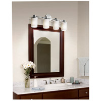 Polished Chrome Limoges Bathroom Vanity Lights