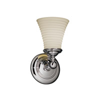 Justice Design Limoges Tradition 1-Light Wall Sconce in Polished Chrome POR-8521-20-SAWT-CROM