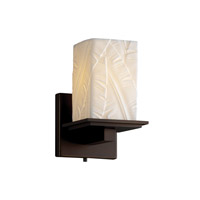 Justice Design Limoges Montana 1-Light Wall Sconce in Dark Bronze POR-8671-15-BANL-DBRZ