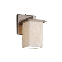 Justice Design Limoges Montana 1-Light Wall Sconce in Brushed Nickel POR-8671-15-BMBO-NCKL