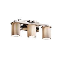 Justice Design POR-8773-10-PLET-CROM-LED3-2100 Limoges LED 21 inch Polished Chrome Bath Bar Wall Light Dakota