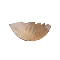 Justice Design Limoges Leaves Porcelain Bisque POR-8801-LEAF