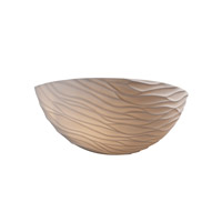 Justice Design Limoges Waves Porcelain Bisque POR-8802-WAVE
