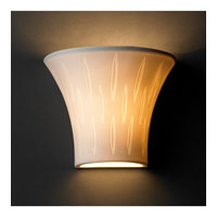 Justice Design Limoges Small Round Flared Wall Sconce POR-8810-OVAL