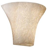 Justice Design POR-8811-LEAF Limoges 1 Light 12 inch Wall Sconce Wall Light in Leaf, Leaves Impression