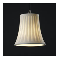 Justice Design Limoges Pendants Mini 1-Light Pendant in Antique Brass POR-8815-20-WFAL-ABRS
