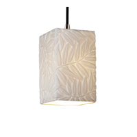 Justice Design Limoges Pendants Small 1-Light Pendant in Brushed Nickel POR-8816-15-BMBO-NCKL