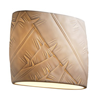 Justice Design Limoges Ada Wide Oval Wall Sconce POR-8855-BANL