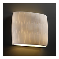 Justice Design Limoges Ada Wide Oval Wall Sconce POR-8855-OVAL