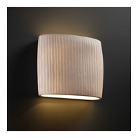 Justice Design Limoges Ada Wide Oval Wall Sconce POR-8855-WFAL photo thumbnail