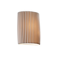 Justice Design POR-8857-PLET Limoges 1 Light 7 inch ADA Wall Sconce Wall Light in Pleats photo thumbnail