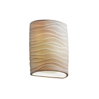 Justice Design Limoges Ada Small Cylinder Wall Sconce POR-8857-WAVE