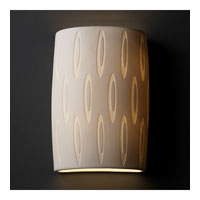 Justice Design Limoges Ada Large Cylinder Wall Sconce POR-8858-OVAL